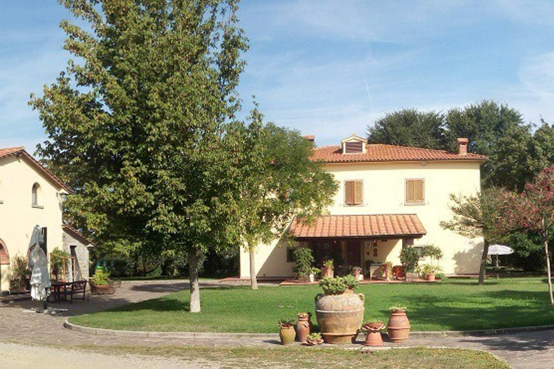 La villa Arezzo