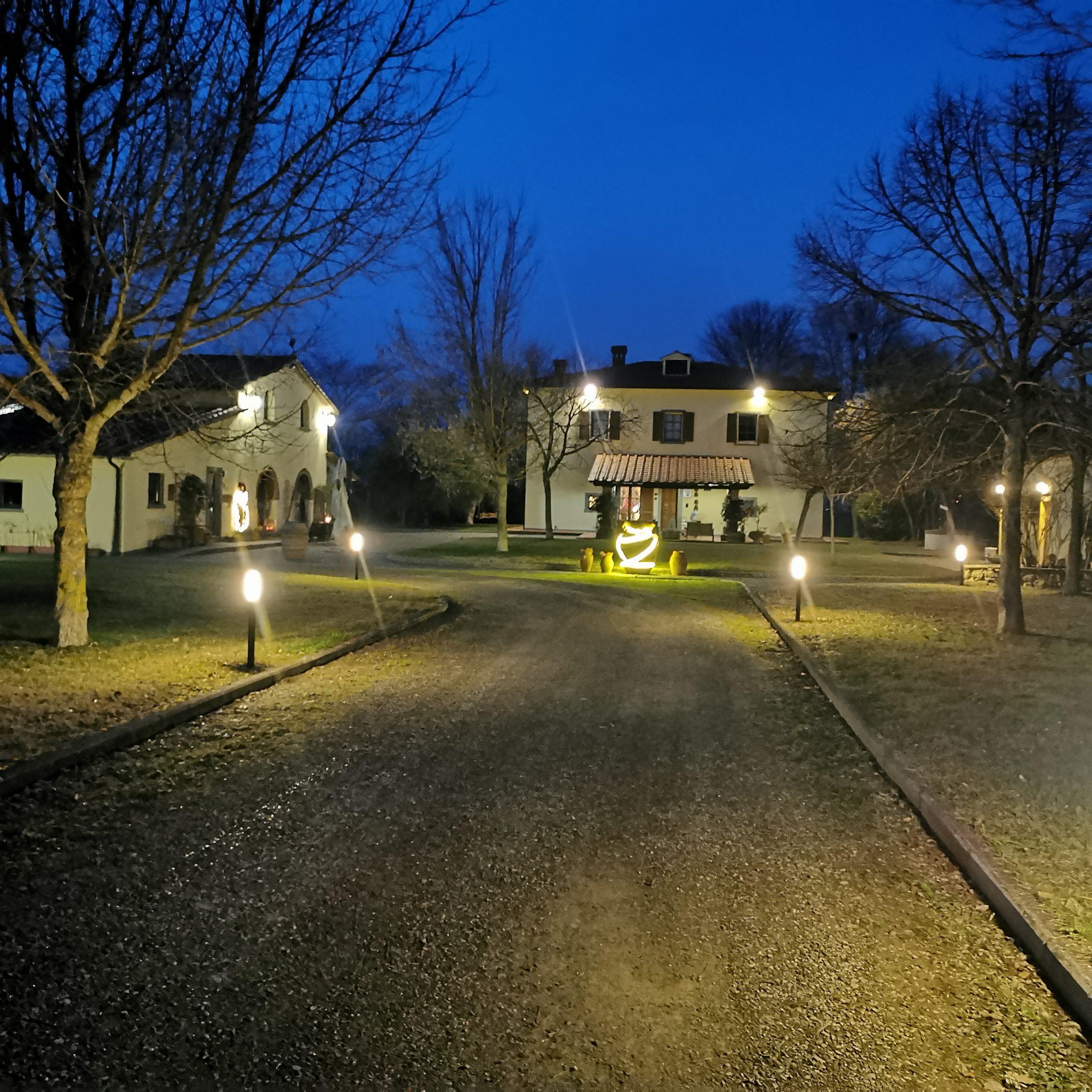 LA villa di arezzo night