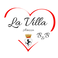 logo b&b la villa di Arezzo